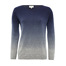 Buy Hartford Milky Ombre Jumper, Blue Online at johnlewis.com