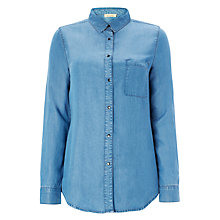 Buy American Vintage Tanney Shirt, Denim Online at johnlewis.com