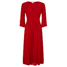 Buy Ghost Bird Embroidered Dress, Poinsettia Online at johnlewis.com