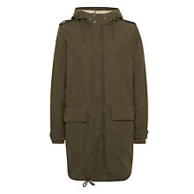 Buy Parka London Elisa Core Parka, Khaki Online at johnlewis.com