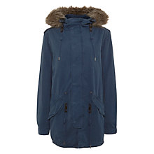 Buy Parka London Charlie Unisex Parka, Deep Navy Online at johnlewis.com