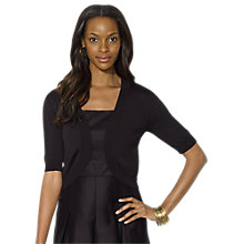 Buy Lauren Ralph Lauren Ginny Cardigan, Black Online at johnlewis.com