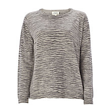 Buy Hartford Mozambique Jumper, Grey Online at johnlewis.com
