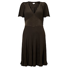 Buy Ghost Button Detail Dress, Bark Online at johnlewis.com