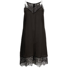 Buy Selected Femme Love Lace Dress, Black Online at johnlewis.com