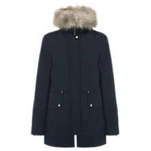 Buy Parka London Ida Core Parka, Navy Online at johnlewis.com