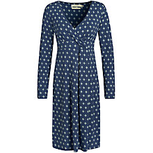 Buy Seasalt Crest Dress, Daisy Tile French Navy Online at johnlewis.com
