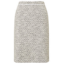 Buy BOSS Tweed Pencil Skirt, Grey Online at johnlewis.com