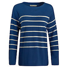 Buy Seasalt Capstan Jumper, Cookworthy Lapis Online at johnlewis.com