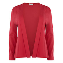 Buy Windsmoor Ponte Edge To Edge Jacket, Bright Pink Online at johnlewis.com
