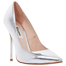 Buy Dune Aimey Leather High Heeled Stiletto Courts Online at johnlewis.com
