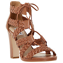 Buy Dune Ivee Lace Up Block Heeled Sandals Online at johnlewis.com