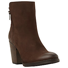 Buy Steve Madden Ryatt-Q Block Heeled Ankle Boots Online at johnlewis.com