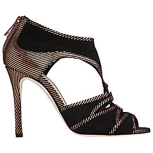 Buy L.K. Bennett Mia High Heeled Cut Away Sandals Online at johnlewis.com