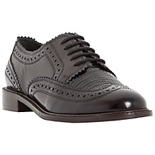 Buy Dune Flint Lace Up Leather Brogues Online at johnlewis.com