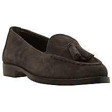 Buy Dune Galileo Suede Tassel Loafer, Grey Online at johnlewis.com