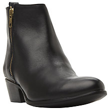 Buy Steve Madden November Block Heeled Ankle Boots Online at johnlewis.com