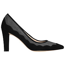Buy L.K. Bennett Blair Block Heeled Court Shoes, Smoke Online at johnlewis.com