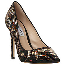 Buy Steve Madden Pizazz Jewel Embellished Court Shoes Online at johnlewis.com