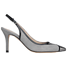 Buy L.K. Bennett Maisy Slingback Courts Online at johnlewis.com