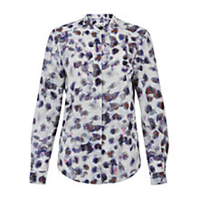Buy Damsel in a dress Snow Leopard Print Blouse, Multi Online at johnlewis.com
