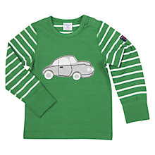 Buy Polarn O. Pyret Baby's Striped Car Top, Green Online at johnlewis.com