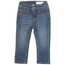 Buy Polarn O. Pyret Baby's Slim Fit Jeans, Light Blue Online at johnlewis.com