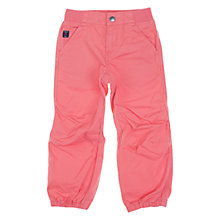 Buy Polarn O. Pyret Children's Cargo Trousers, Pink Online at johnlewis.com