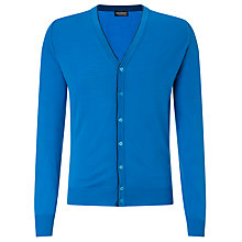 Buy John Smedley Coll Merino Cardigan Online at johnlewis.com