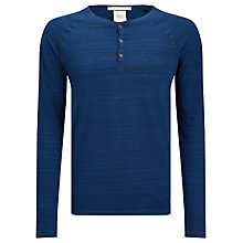 Buy Scotch & Soda Home Alone Grandad Jersey Top, Midnight Online at johnlewis.com