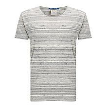 Buy Scotch & Soda Home Alone Crew Neck T-Shirt, Grey Online at johnlewis.com