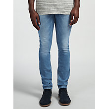 Buy Scotch & Soda Skim Skinny Jeans, Washed Away Online at johnlewis.com