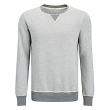 Buy Scotch & Soda Home Alone Jersey Top, Grey Melange Online at johnlewis.com
