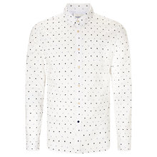 Buy Scotch & Soda All Over Spot Printed Shirt, White Online at johnlewis.com