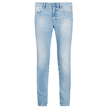 Buy Scotch & Soda Catch 22 Sundrench Stretch Slim Jeans, Denim Blue Online at johnlewis.com