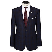 Buy Ted Baker Modbox Prince of Wales Check Modern Fit Suit Jacket, Blue Online at johnlewis.com
