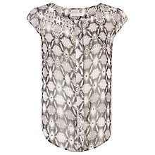 Buy Fenn Wright Manson Print Logan Top, Grey Online at johnlewis.com