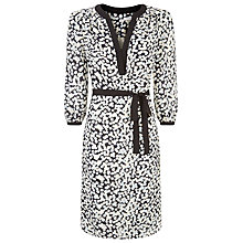 Buy Fenn Wright Manson Lily Print Dress, Black/White Online at johnlewis.com
