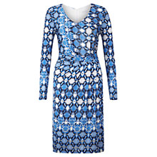 Buy Fenn Wright Manson Honor Snake Print Dress, Blue Online at johnlewis.com