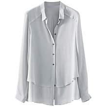 Buy Poetry Silk Shirt, Frost Online at johnlewis.com