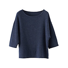 Buy Poetry Cashmere Sweater, Blue Online at johnlewis.com