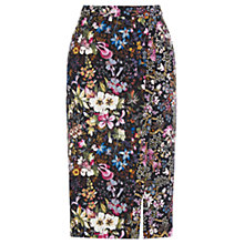 Buy Oasis Midnight Garden Skirt, Multi Black Online at johnlewis.com