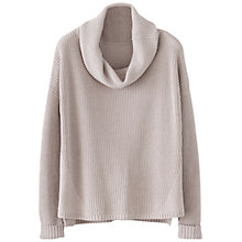Buy Poetry Ribbed Knit Jumper, Oyster Online at johnlewis.com