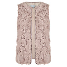 Buy Jigsaw Lamb Leather Kalgan Gilet Online at johnlewis.com