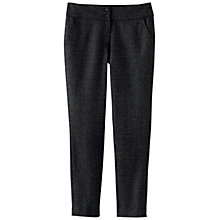 Buy Poetry Wool Cropped Trousers, Charcoal Online at johnlewis.com