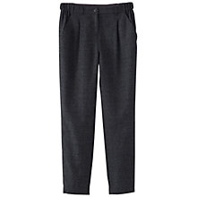 Buy Poetry Relaxed Tailored Trousers, Charcoal Online at johnlewis.com