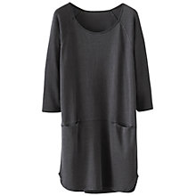 Buy Poetry Hemp Cotton Tunic, Charcoal Online at johnlewis.com