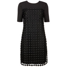 Buy Ted Baker Nadira Geometric Lace Shift Dress, Black Online at johnlewis.com