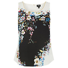 Buy Oasis V&A Placement Vest Top, Multi Natural Online at johnlewis.com