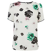 Buy Oasis The Ariella Top, Multi White Online at johnlewis.com